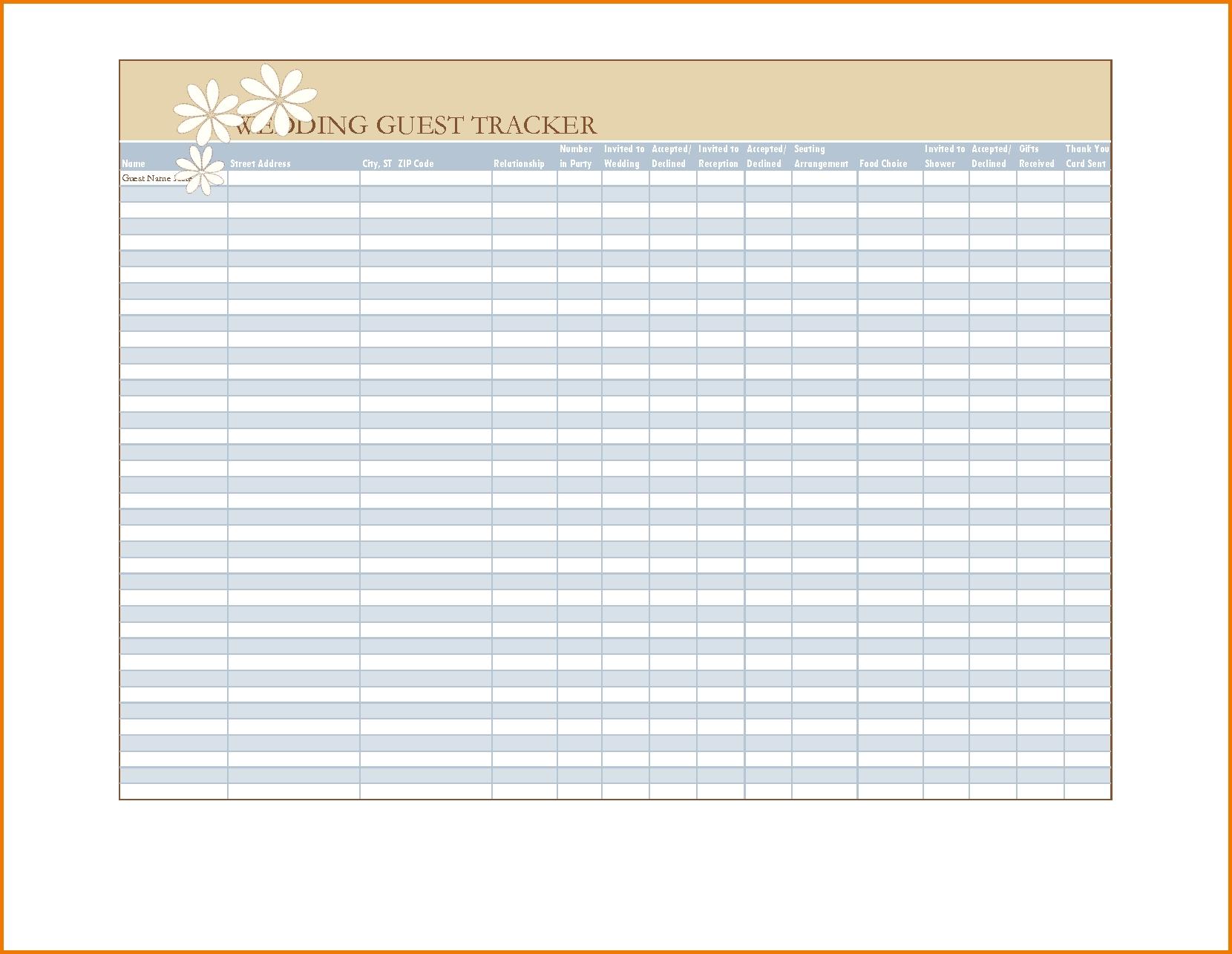 005 Guest List Template Excel Ideas Wedding Best Corporate-Event Guest List Template Excel
