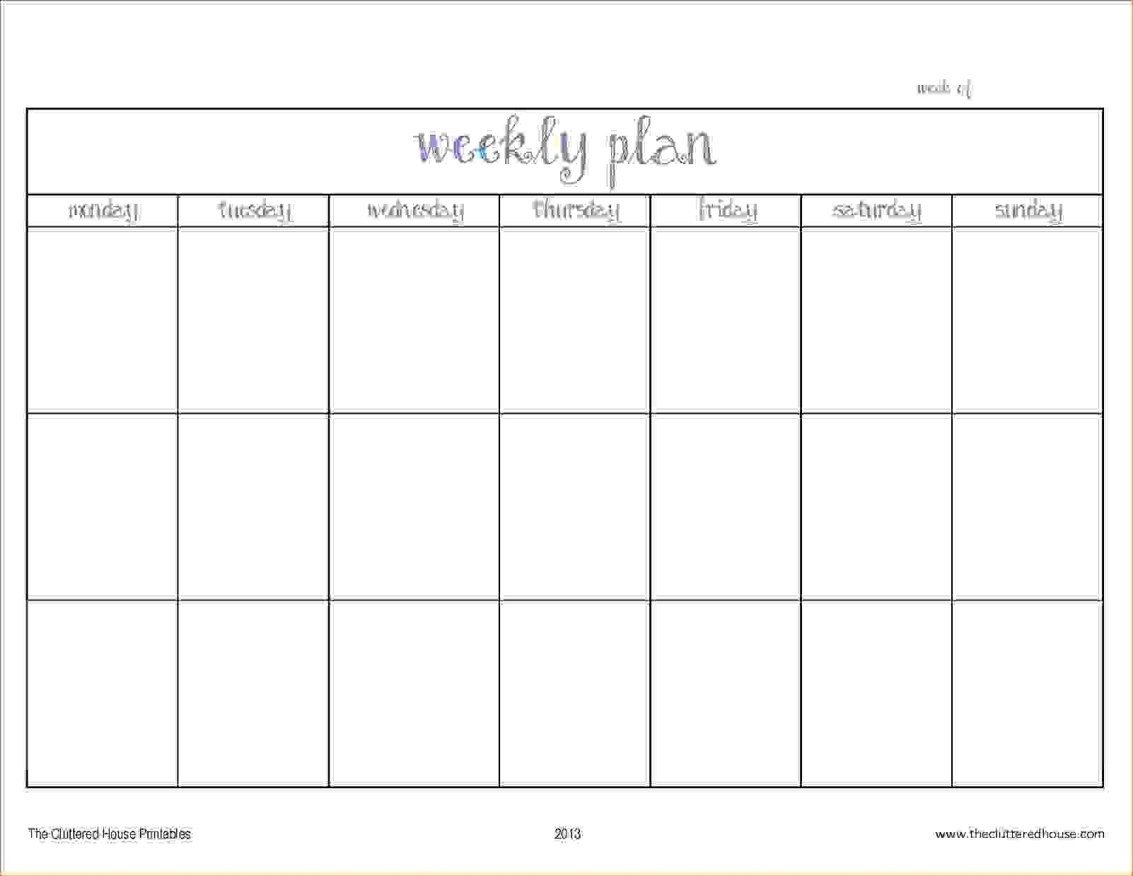 005 Lesson Two Week Plan Template Amazing Templates ~ Fanmail-Us-Two Week Schedule Template