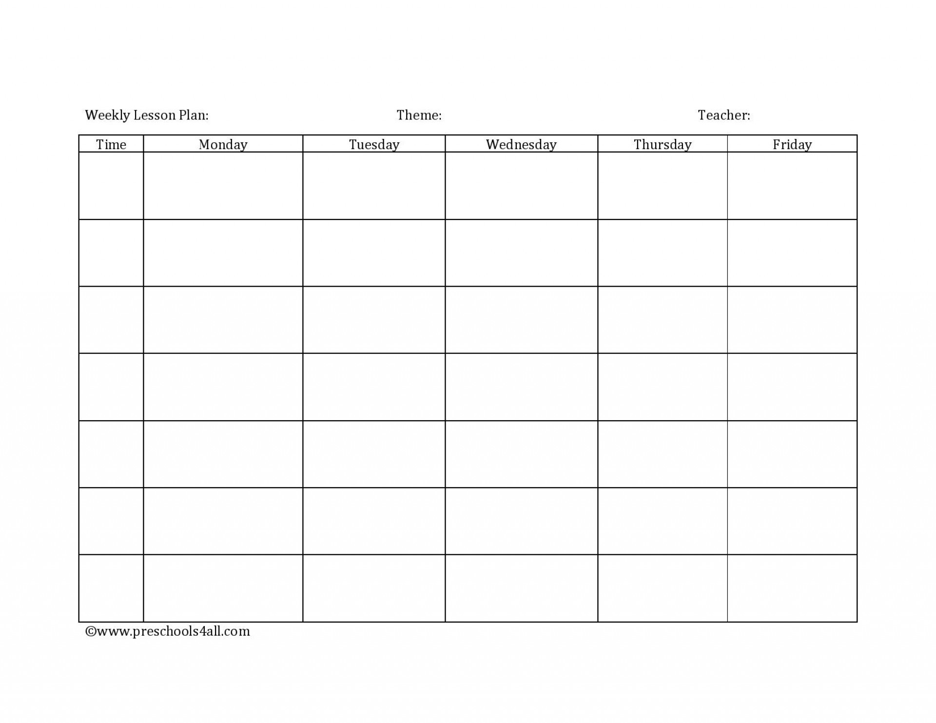 015 Weekly Lesson Plan Template Exceptional Ideas Daycare-Daycare Weekly Lesson Plan Template