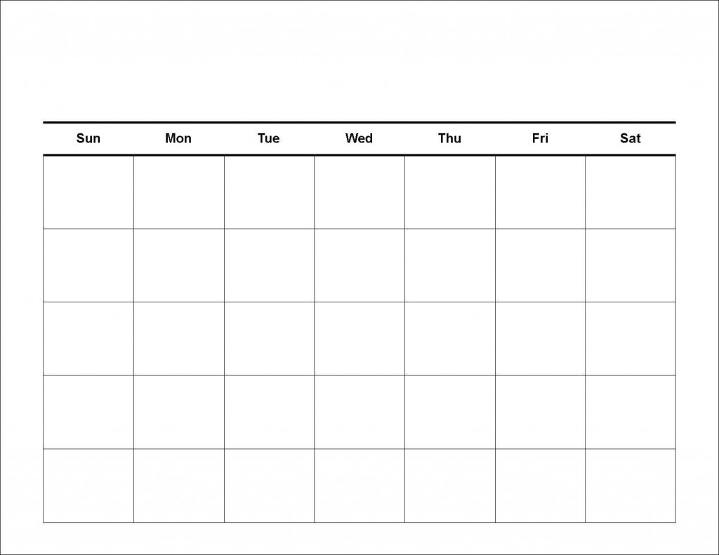020 Free Blank Calendar Template Ideas 20Blank Weekly-2020 Monthly Calendars With Time Slots