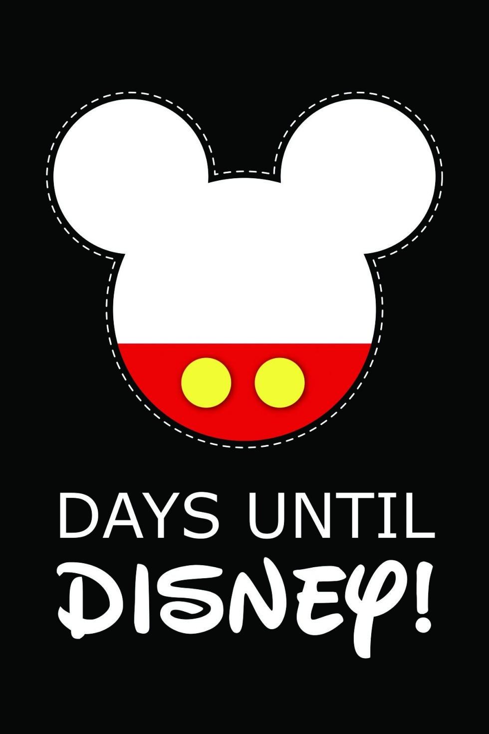 10 Fun Printable Disney Countdown Calendars   Kittybabylove-Countdown To Disney Template