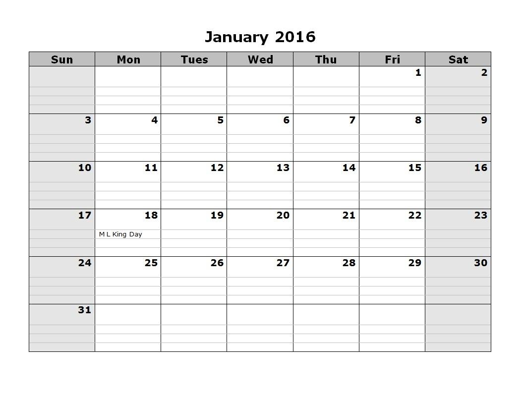 2016 Monthly Calendar Landscape 08 16 Calendarlab-Calendar Labs 2020 Templates
