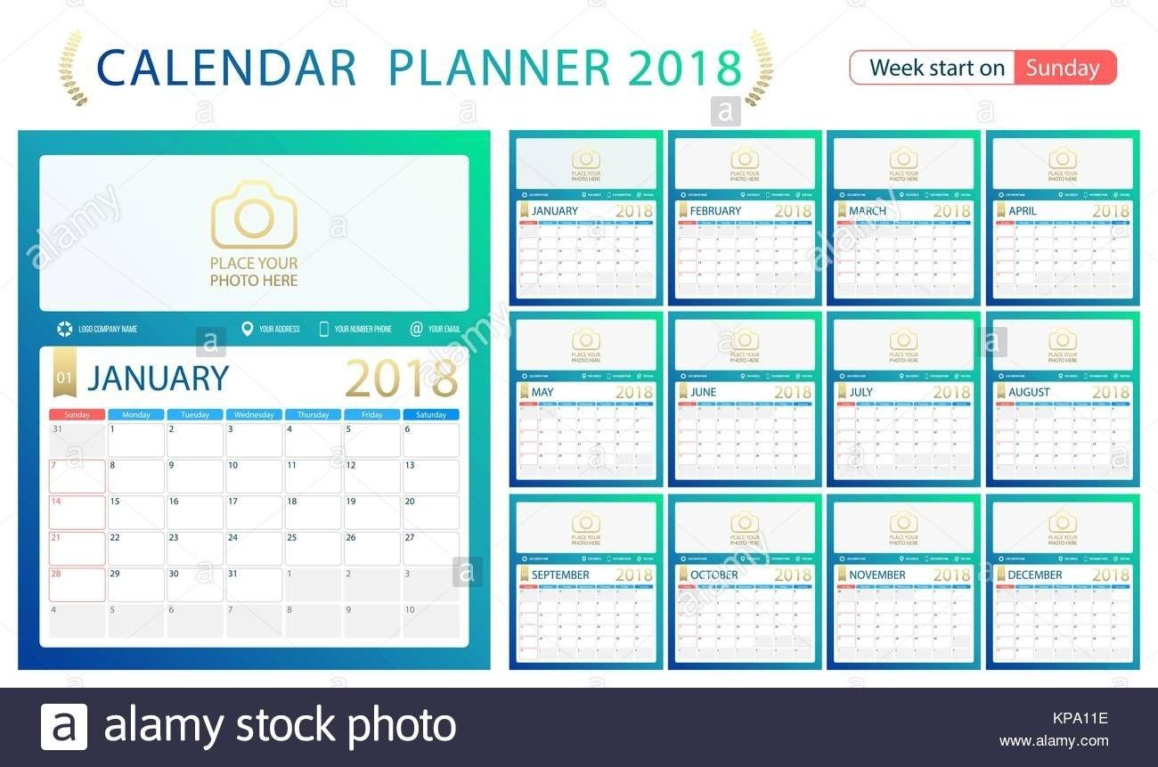 2018 Calendar Excel Weekly Calendar Free New Calendar-Indesign Calendar Template 2020