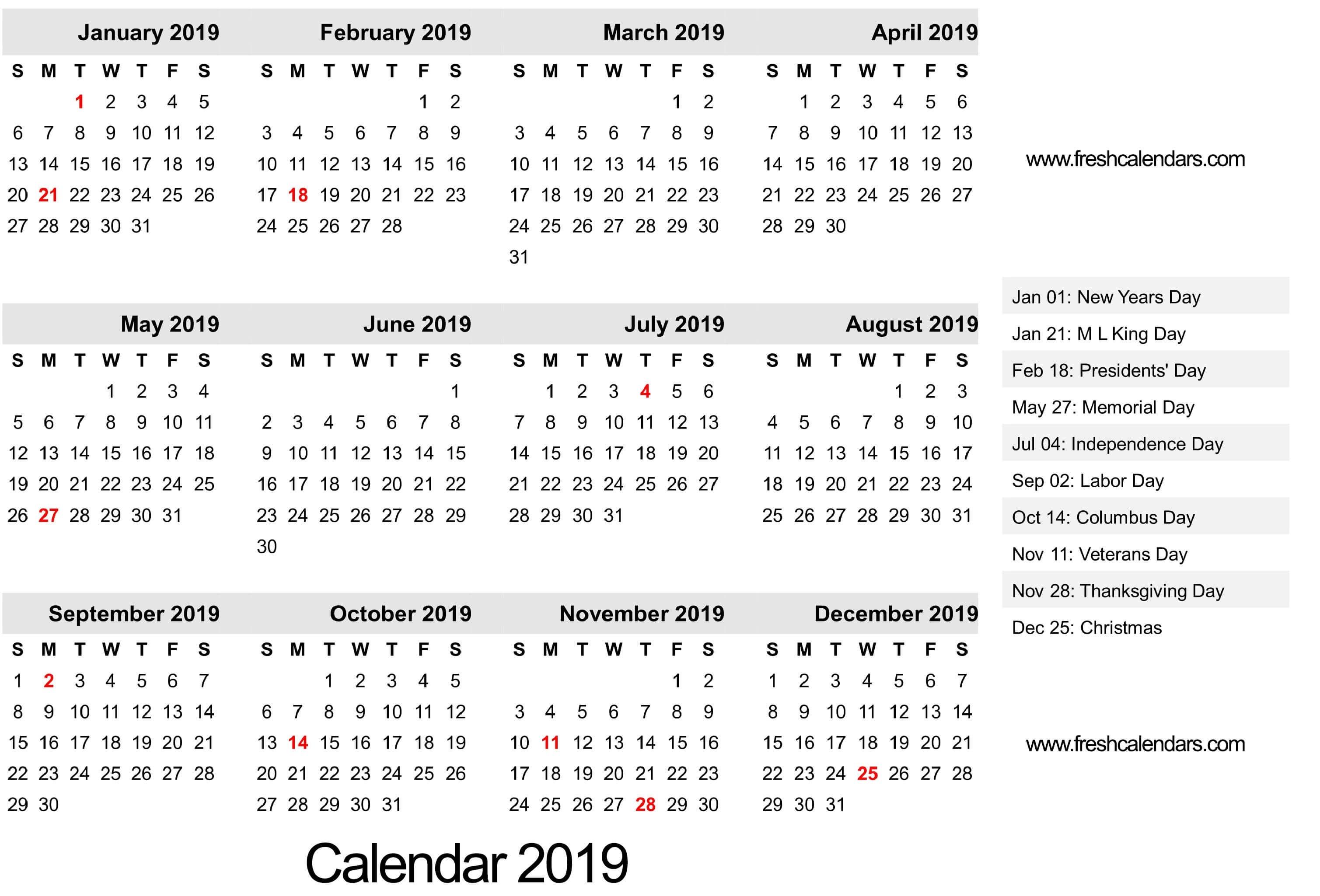 2019 Calendar-Template Of 2020 August Thru Dec Calendar