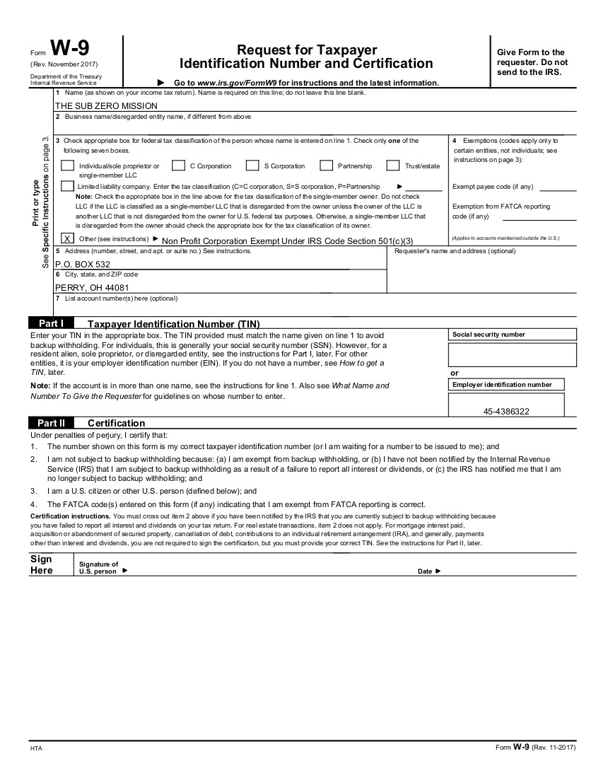 It is a picture of Striking Printable W9 Forms