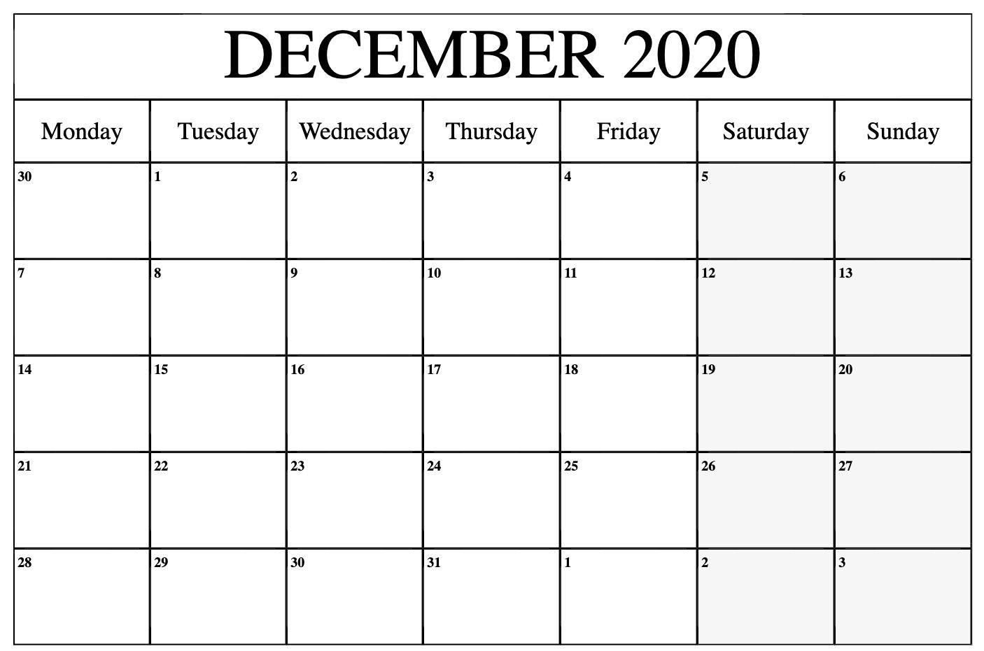 2020 December Calendar   Monthly Calendars   October-2020 August September Octobercalendar Monthly