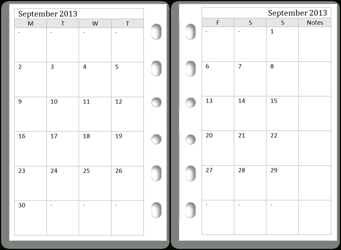 23 Images Of Printable Two-Month Calendar Template-2 Month Calendar Template Printable