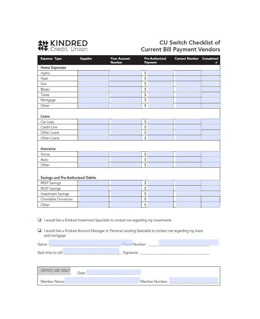 32 Free Bill Pay Checklists & Bill Calendars (Pdf, Word & Excel)-Blank Calendar 2020 Printable Monthly Payday Bills And Due Date