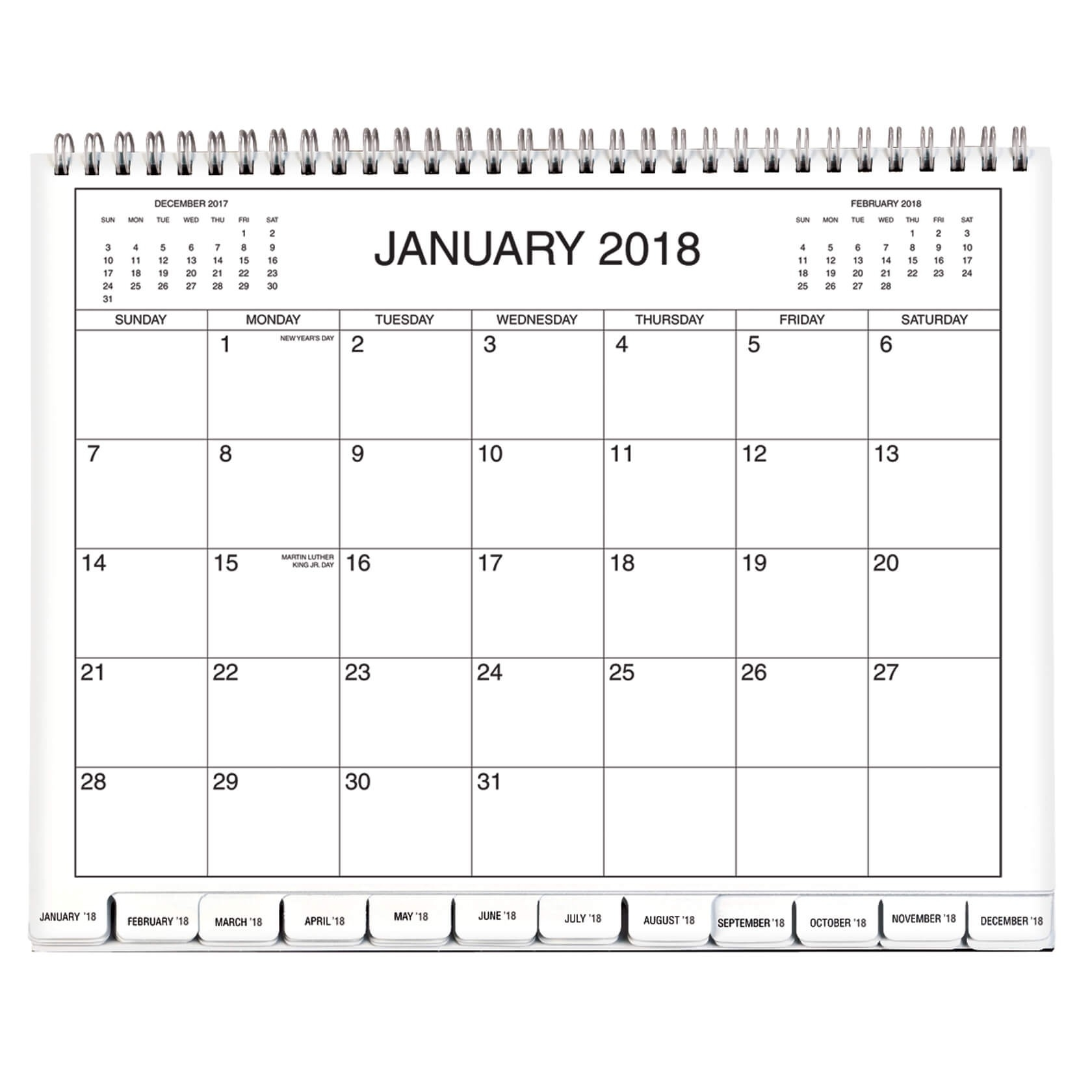 5 Year Calendar 2018-2019-2020-2021-2022 - Monthly Calendar-Monthly Bill Calendar 2020