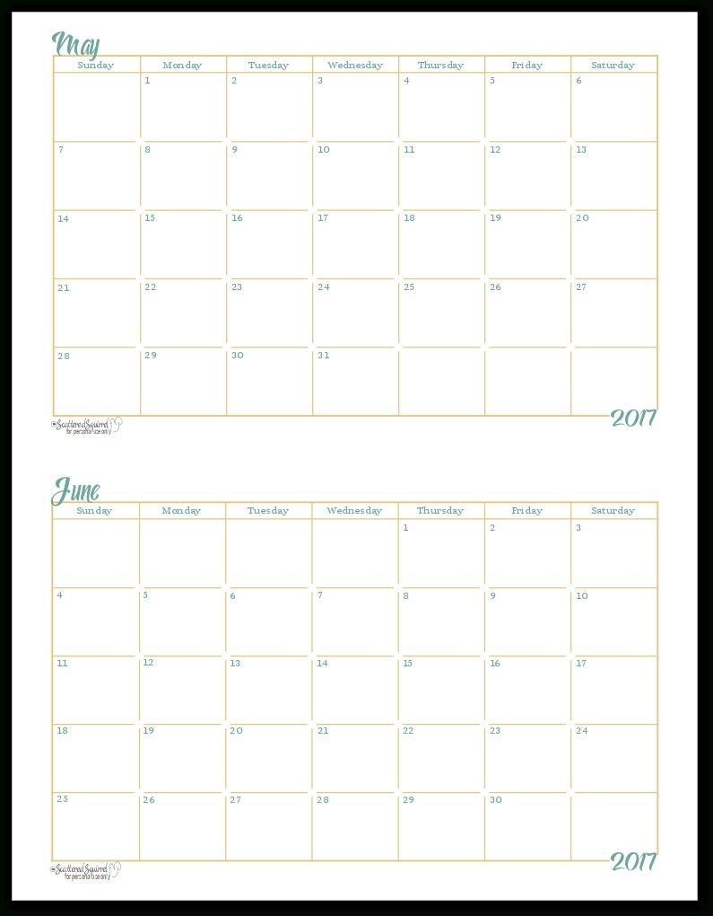 5X8 Calendar Planner Templates Printable | Template Calendar-5X8 Calendar Templates To Print