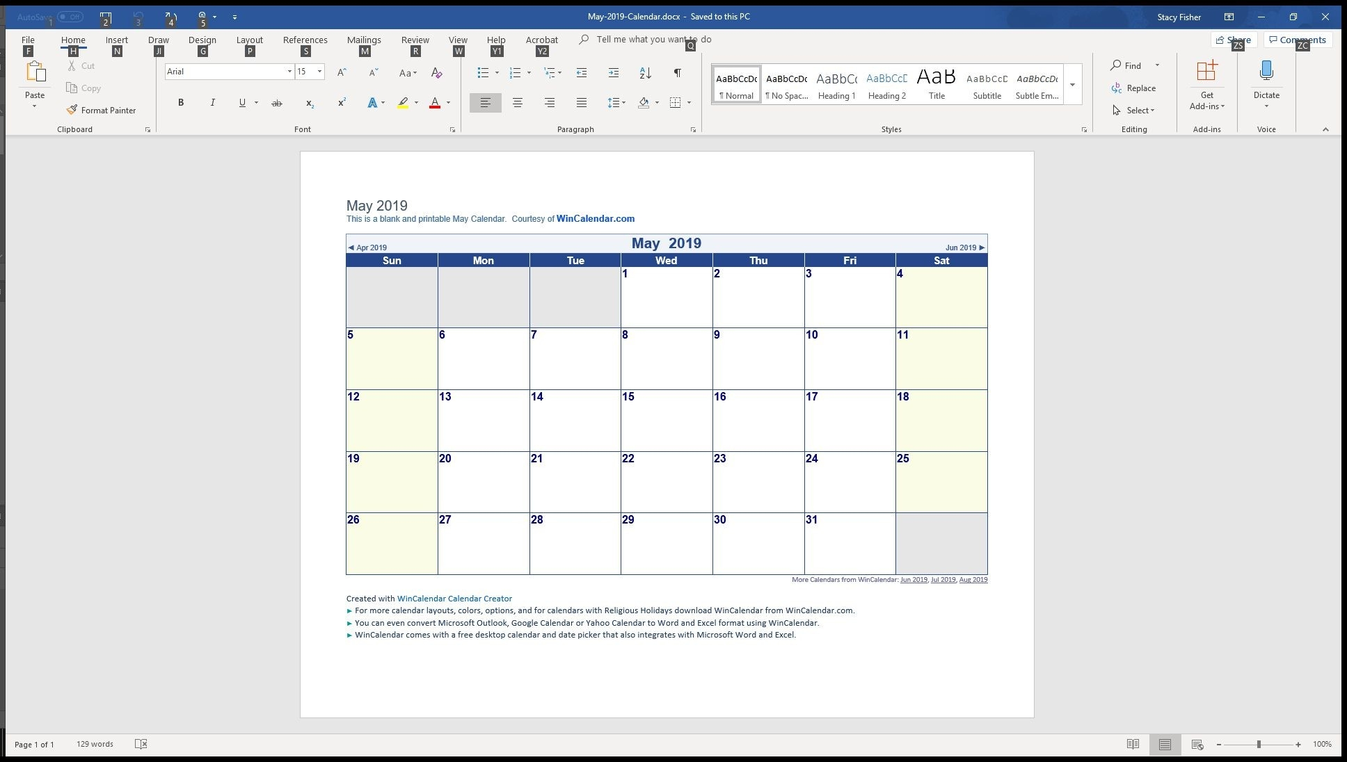 7 Top Place To Find Free Calendar Templates For Word-Word Monthly Calendar Template Word 2010