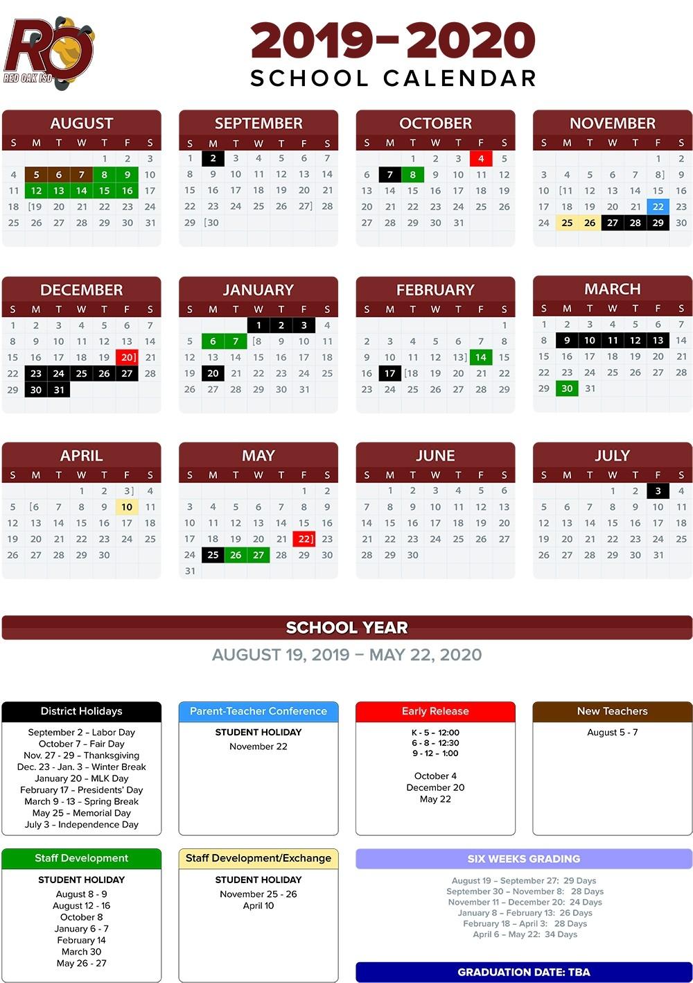 Annual School Calendar / 2019-20 Annual Calendars-January 2020 Calendar Japan