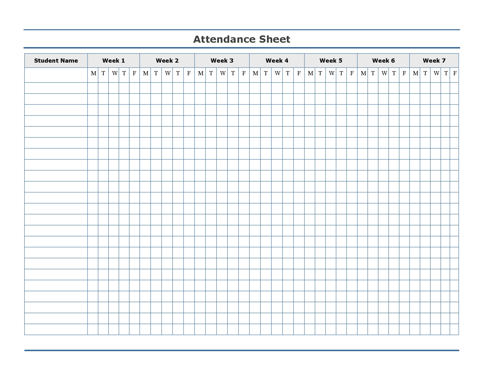 Attendance Sheet Late Free Printable E2 80 A6 Education Sign-Monthly Sign Up Sheet Templates