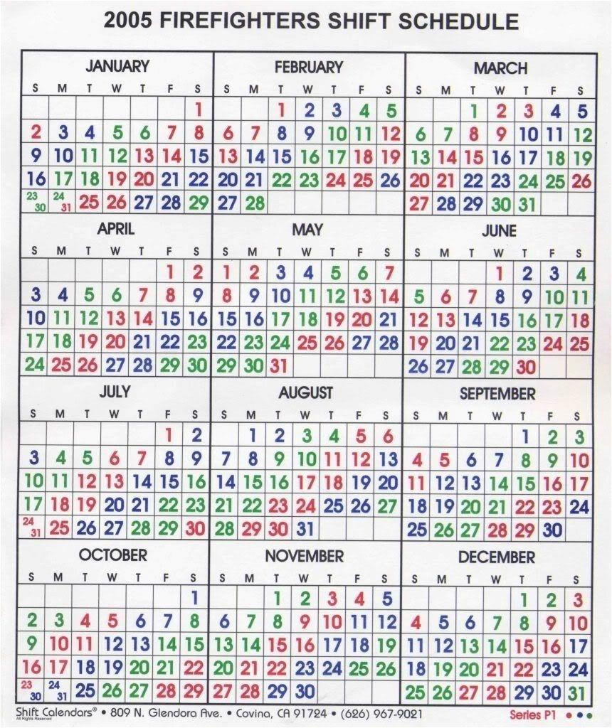 Awesome 20 Design Shift Calendar 2019 | Blank Calendar Templates-Firefighter Shift Calendar Template