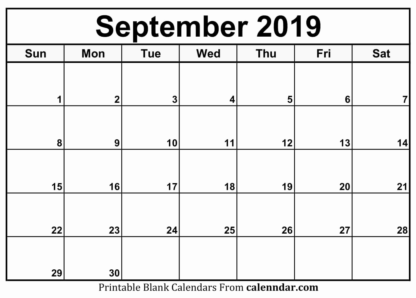 Beautiful 35 Illustration September 2019 Blank Printable-Blank Printable Catholic Calender September