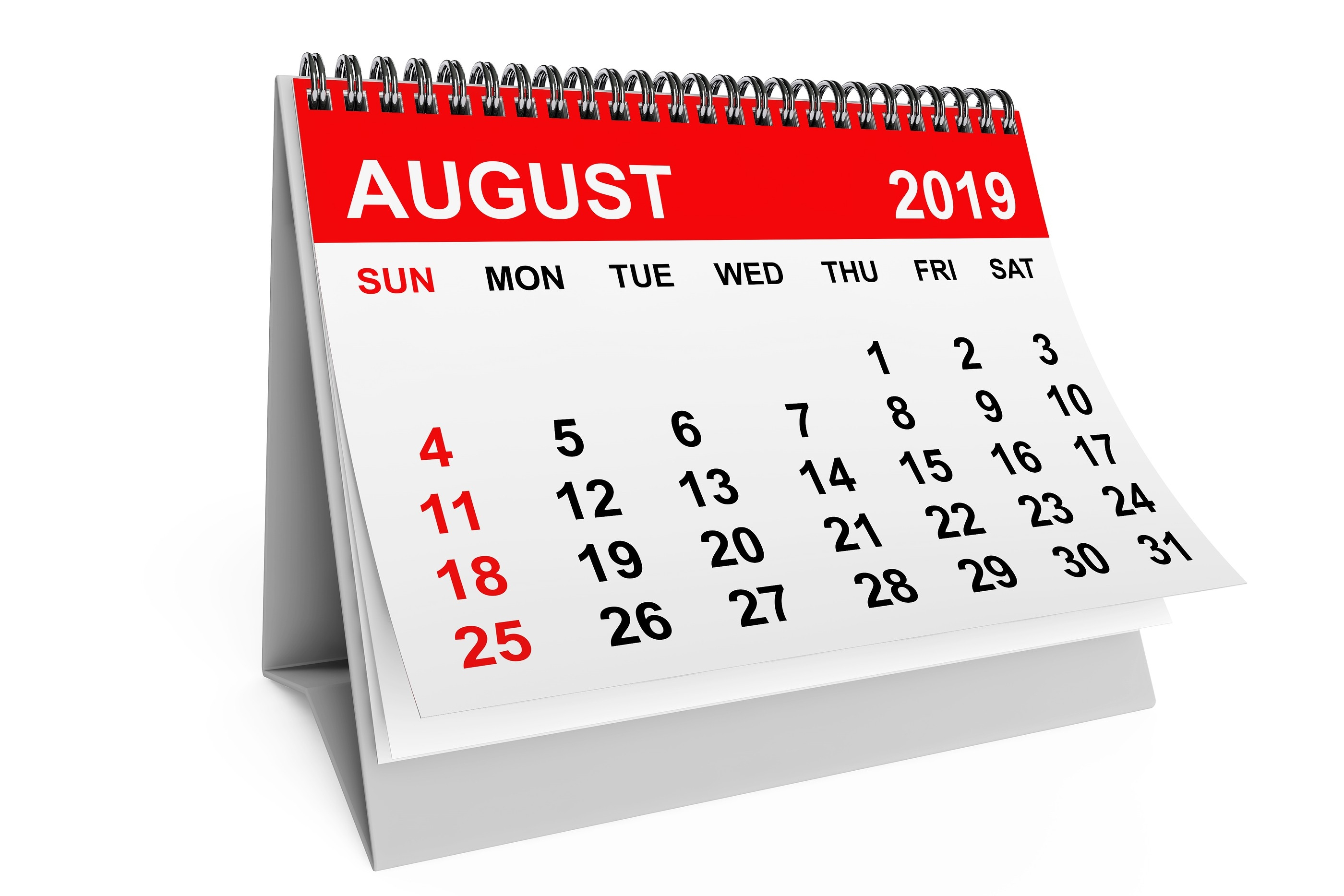 Bizarre And Random Holidays In August. | The New Warm 106.9-Calendar Holidays Special And Wacky Days