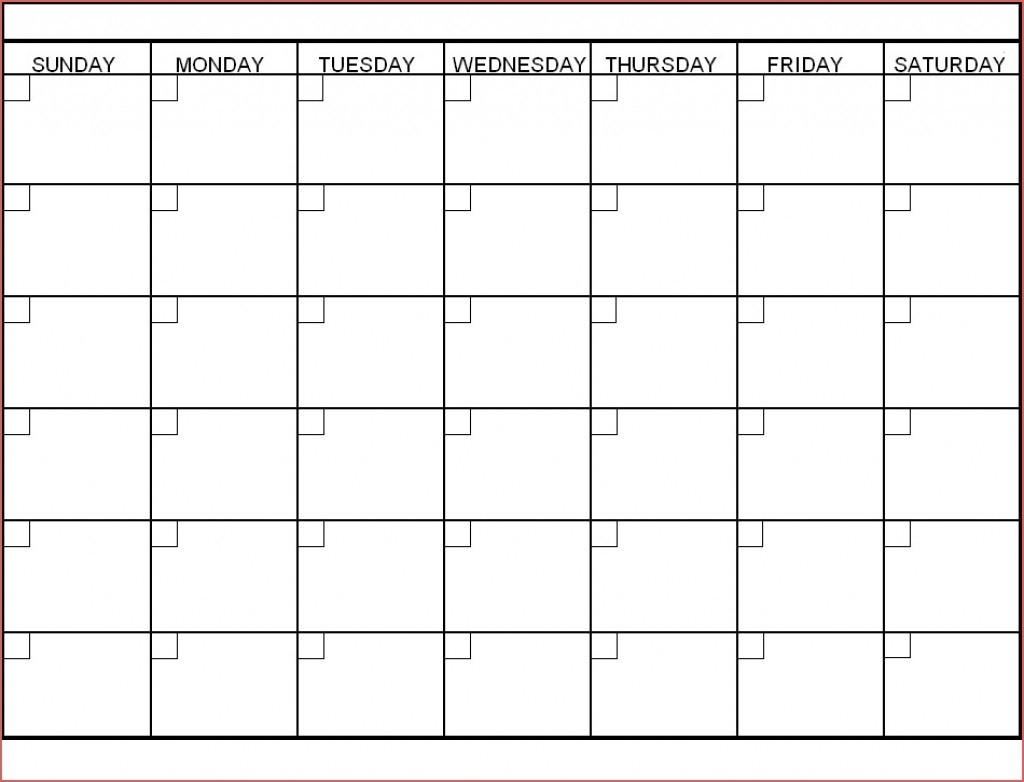 Blank 30 Day Calendar Template | Template Calendar Printable-Blank Template For 30 Days