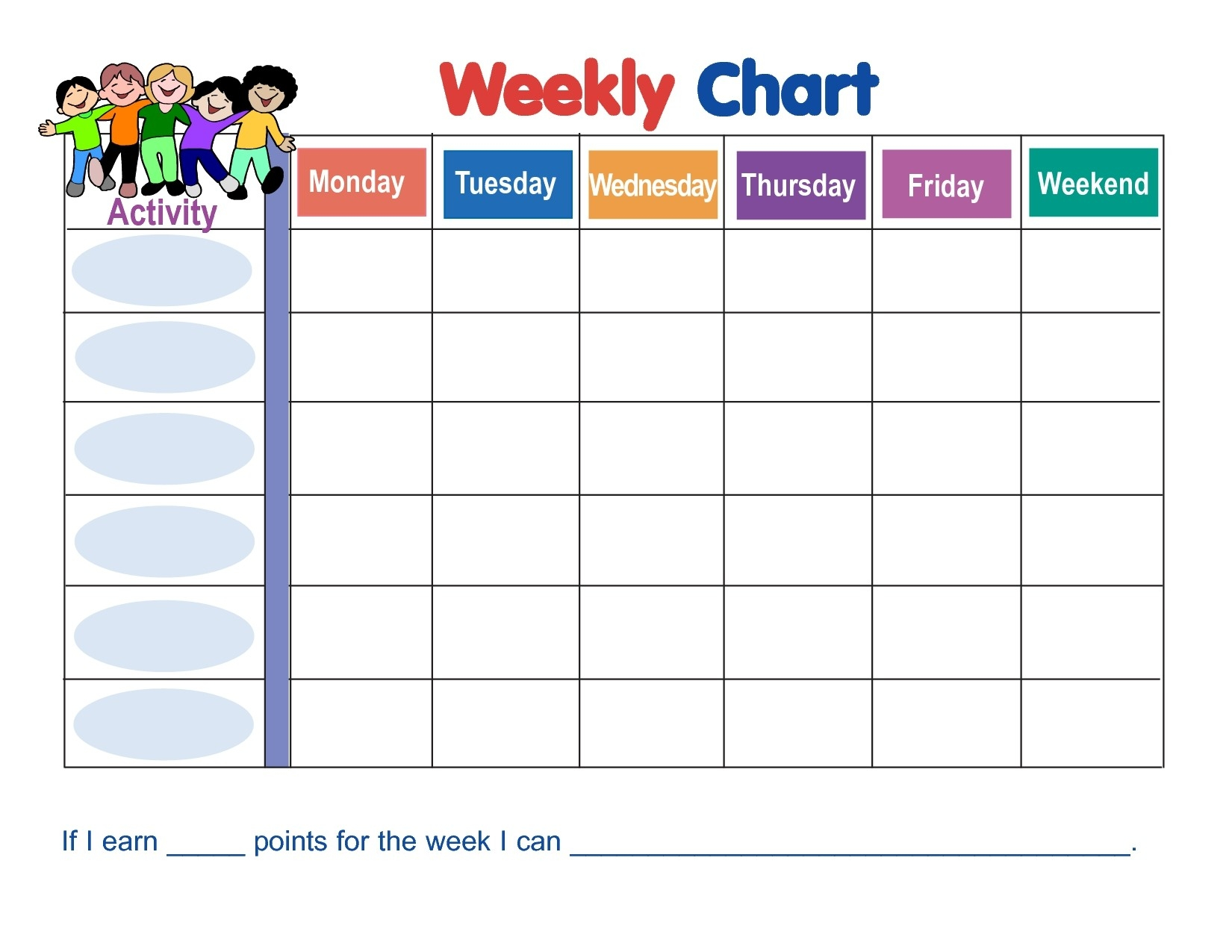 Blank Behavior Calendar 2017 Calendar In Monthly Behavior-Editable Monthly Behavior Chart