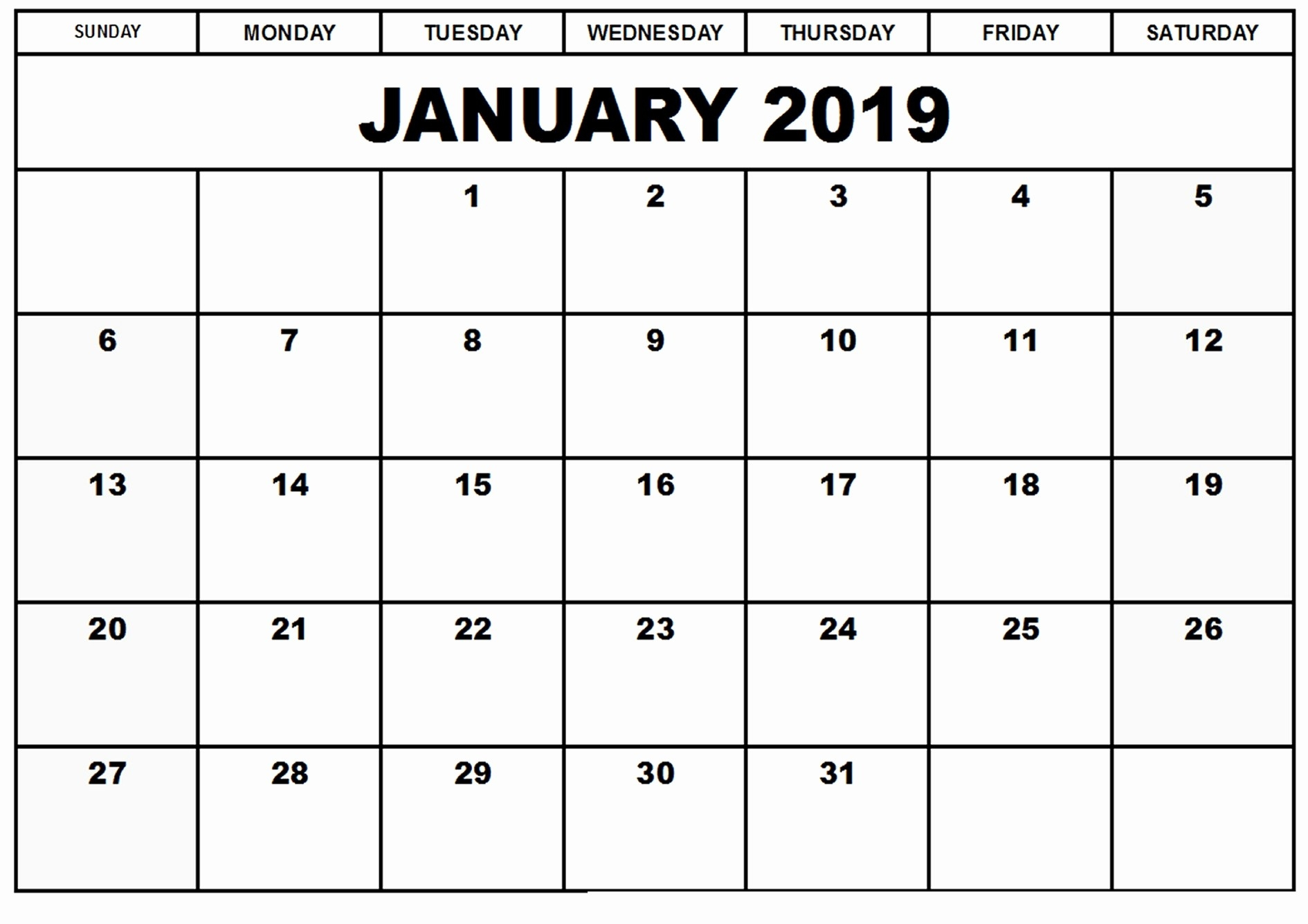 Blank Calendar Template 2019 Uk Printable Calendar 2019 Uk-Calendar Labs 2020 Templates
