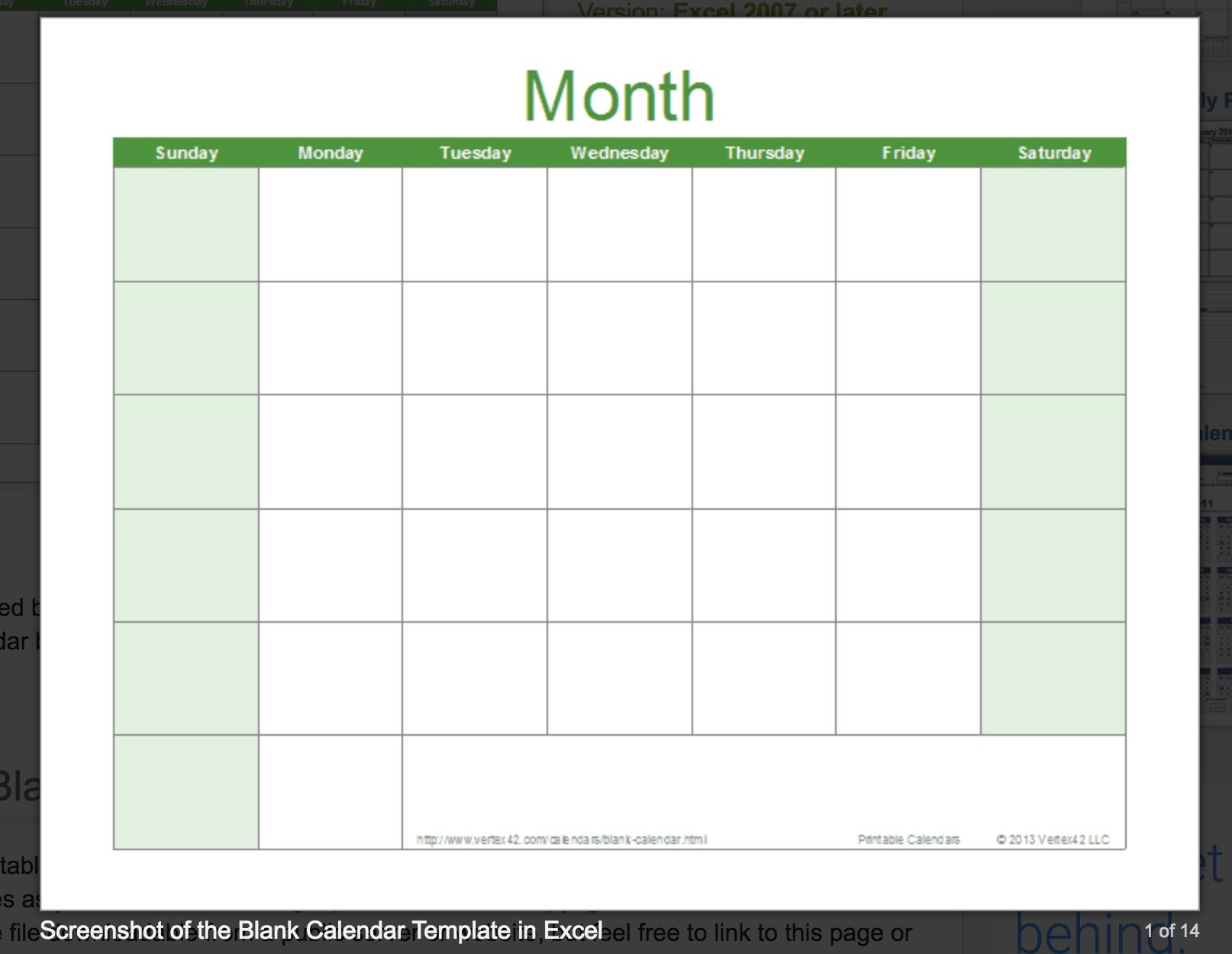Blank Calendar: Wonderfully Printable 2019 Templates-Printable Blank Monthly Calendar Template