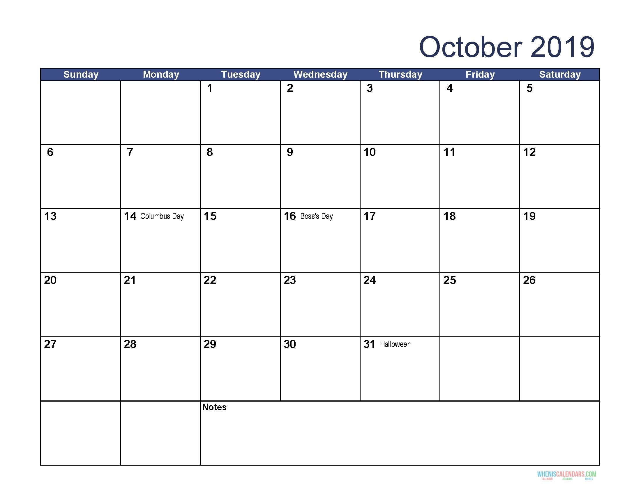 Calendar Jewish Holidays October 2019 • Printable Blank-Calendar Of Jewish Holidays