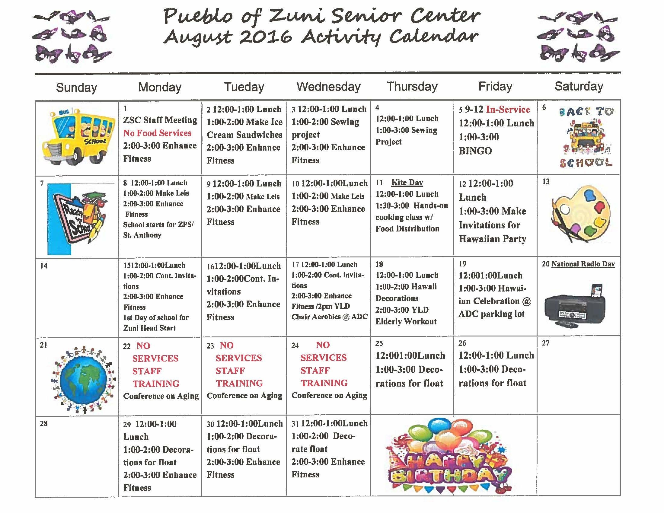 Calendar-National Monthly Calendar For Food