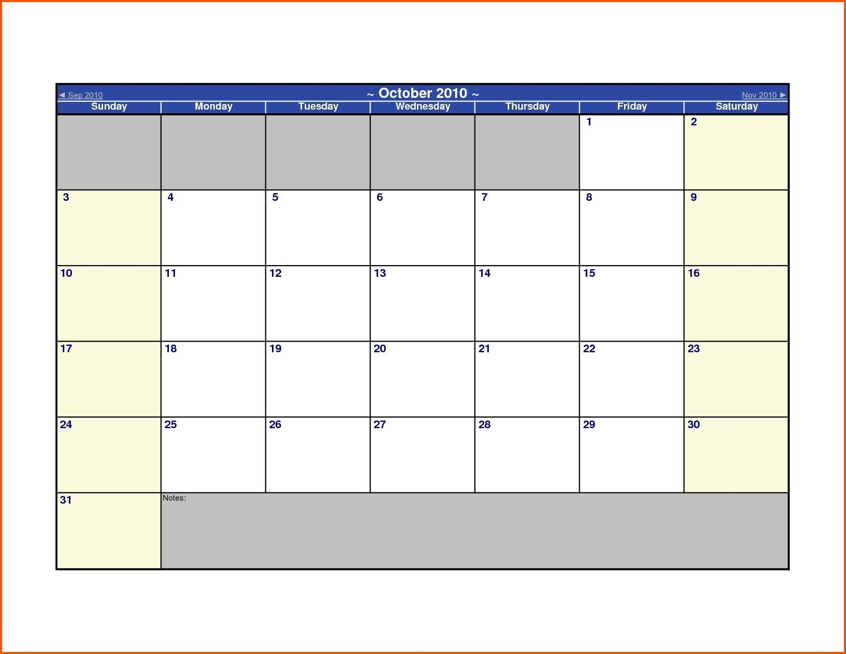 Calendar Template Open Office – Printable Week Calendar-Libre Office Monthly Bill Calendar