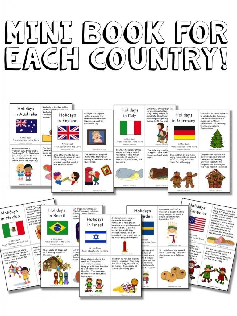 Christmas Around The World Activities And A Freebie-Bishop Kelley 2020 Holidays