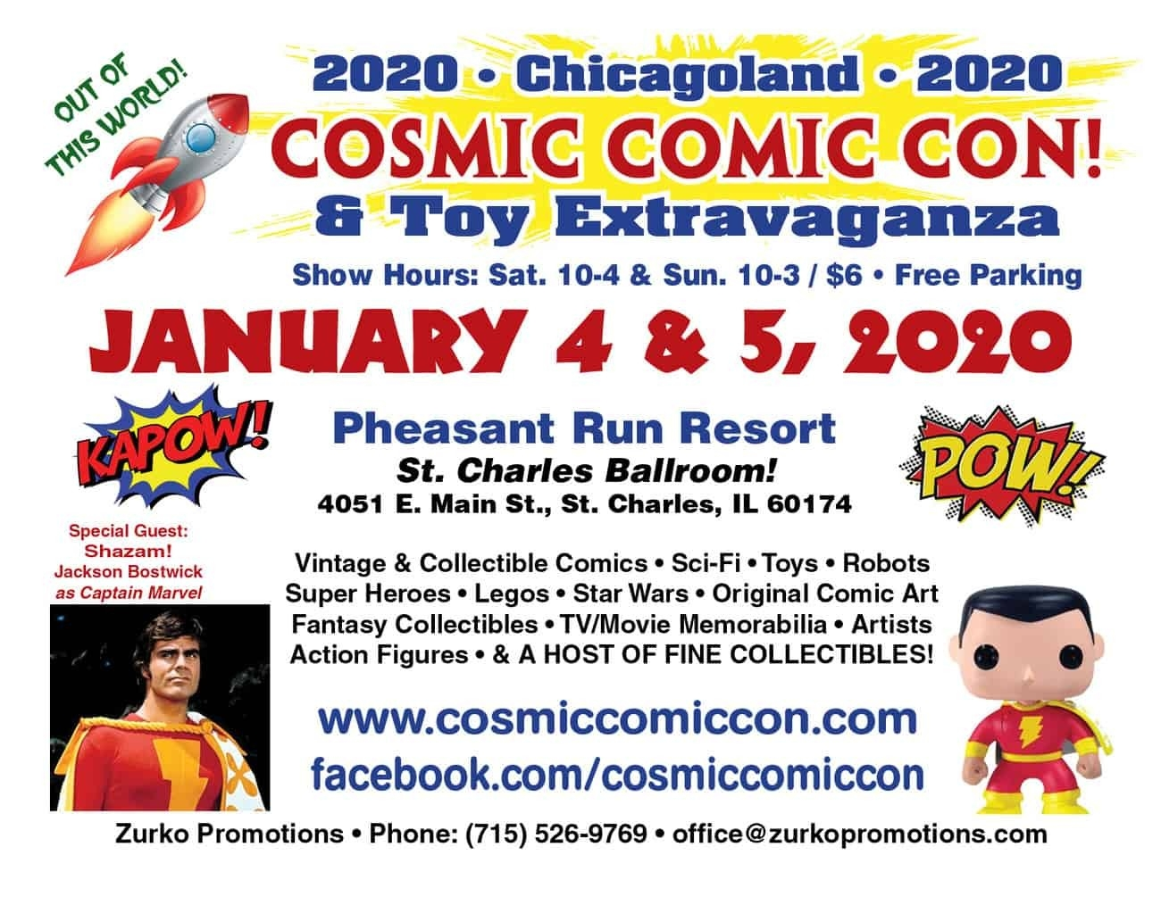 Cosmic Comic Con (January 2020) | Convention Scene-Las Vegas Event Calendar January 2020