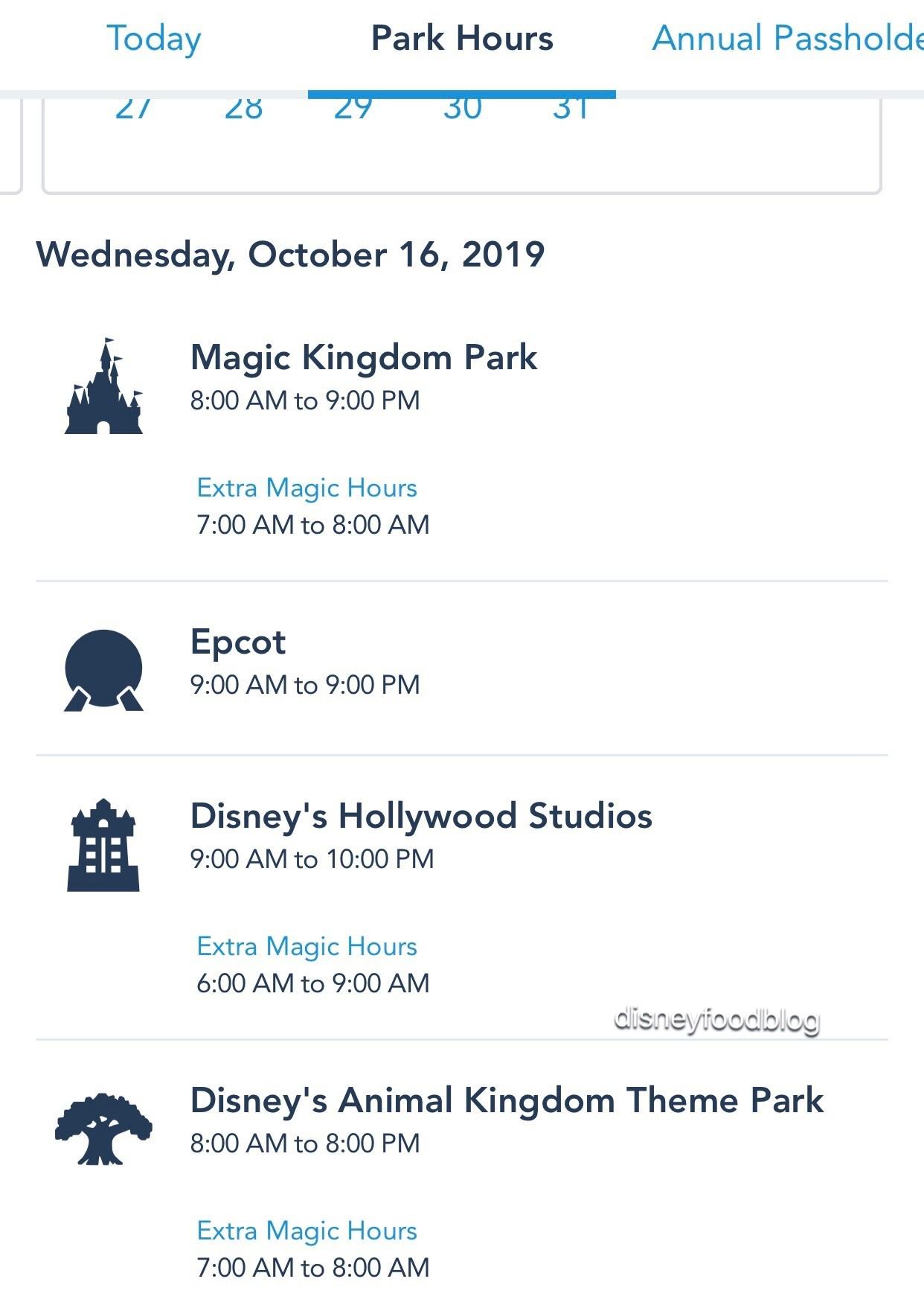 Disney World Adding Extra Extra Magic Hours At Parks This-Extra Magic Hours Calendar January 2020