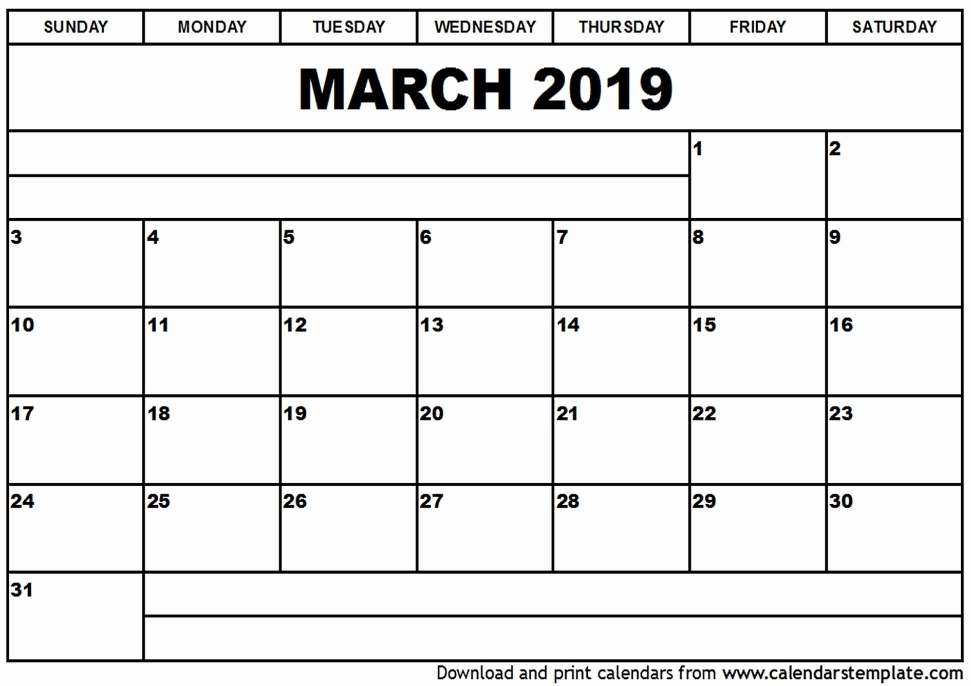 Editable Free Blank Monthly Calendar Template - Calendar-Monday Thru Friday Calendar Template 2020