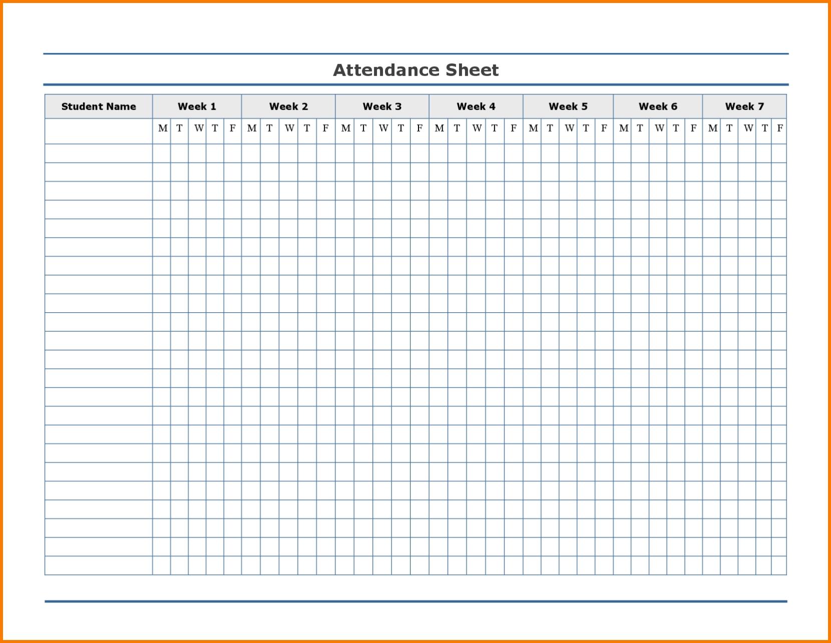 Employee Attendance Excel Sheet | Employee Attendance Sheet-2020 Employee Attendance Calendar Record Template Free