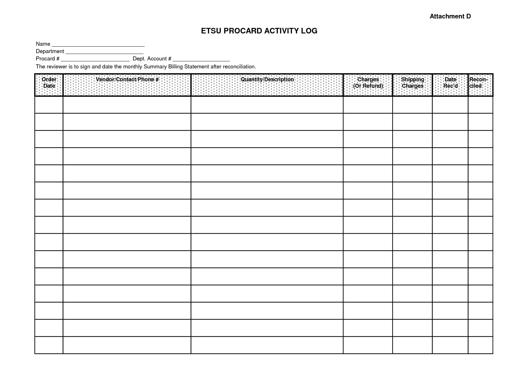 Blank Monthly Bill Payment Worksheet   Calendar Template ...