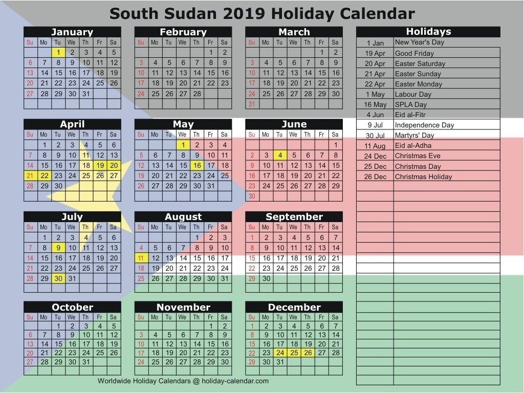 Extraordinary 2020 Calendar South Africa With Public-Calendar 2020 With Holidays South Africa