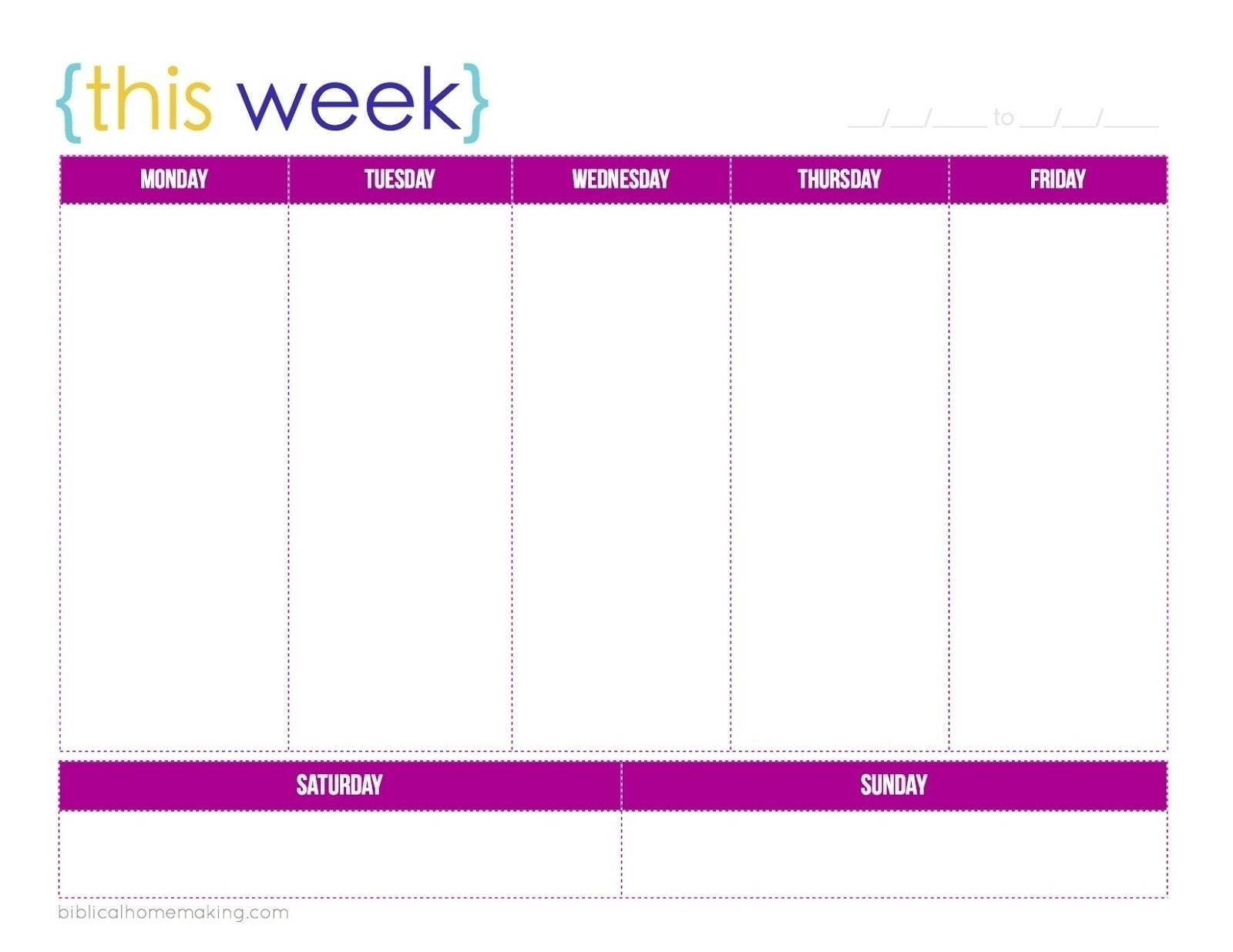 Extraordinary Blank Calendar Template 5 Day Week • Printable-5 Day Template Calendar Blank