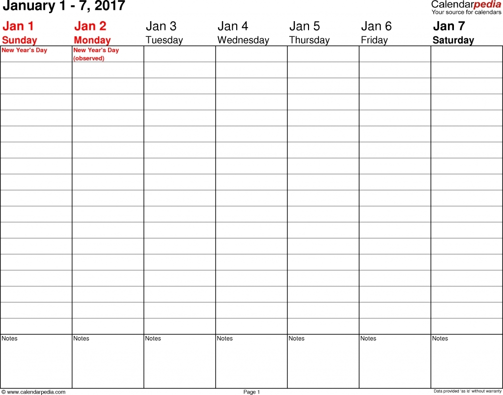 Finding The Best Daily Planner With 15 Minute Increments-Blank Weekly Calendar 15 Minute Increments