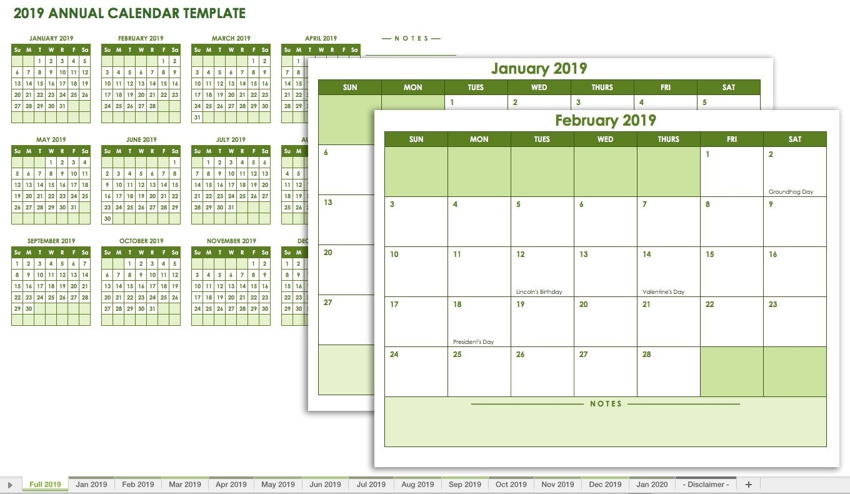 Free Blank Calendar Templates - Smartsheet-Calendar Template No Weekends