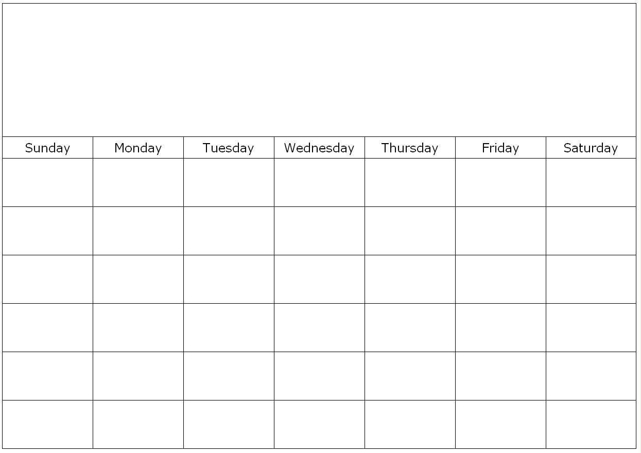 Free Printable 1 Month Calendar | You Can Find This Calendar-Month To Month Blank Calendars