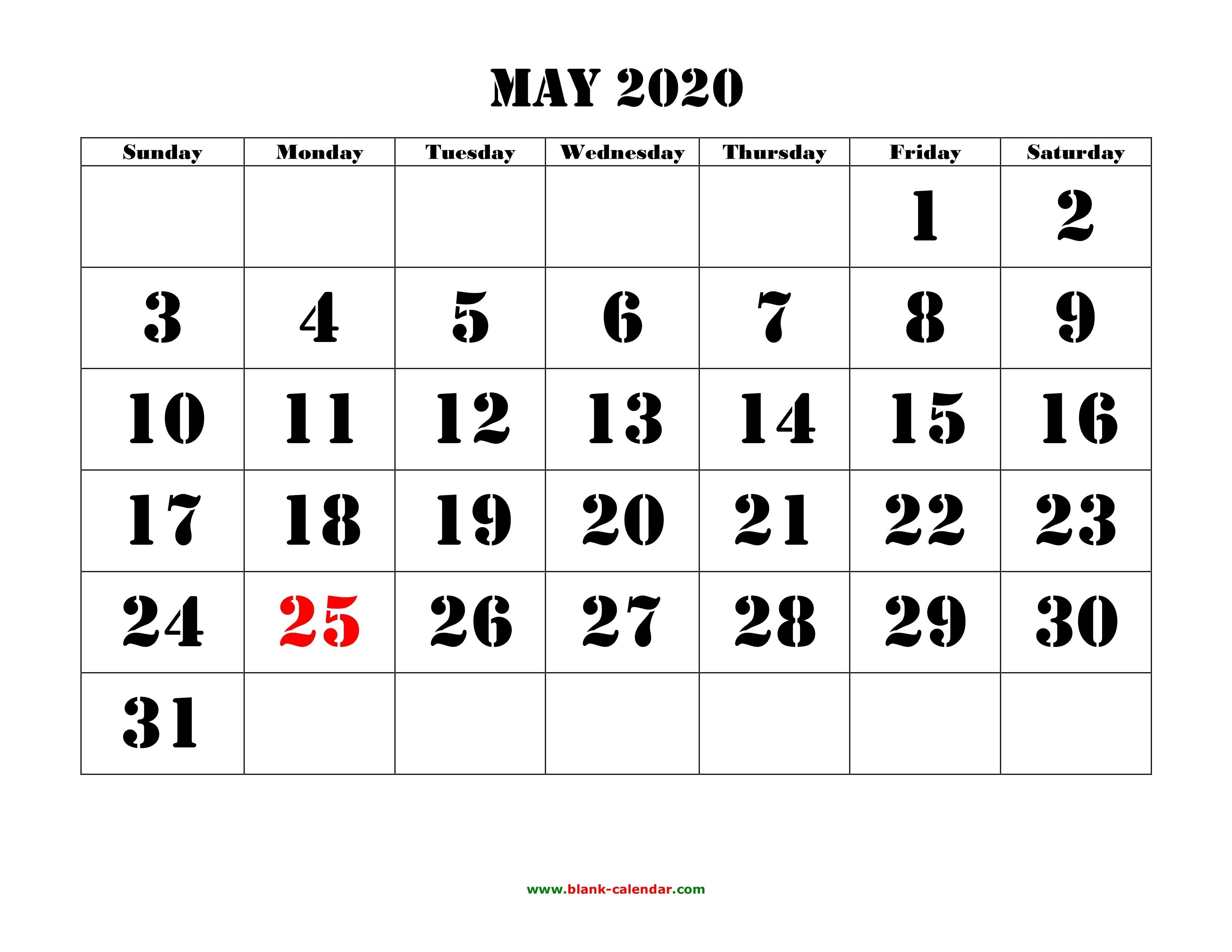Free Printable 2020 Calendar With Holidays 8 - Crearphpnuke-Free Mickey Mouse Printable Monthly Calendar 2020