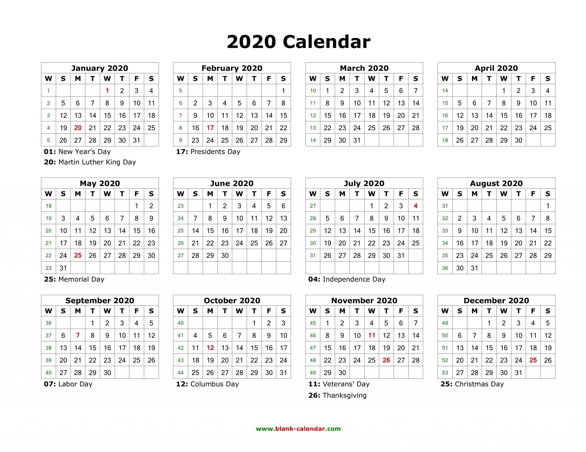 Holidays For 2020 South Africa   Calendar Template Printable
