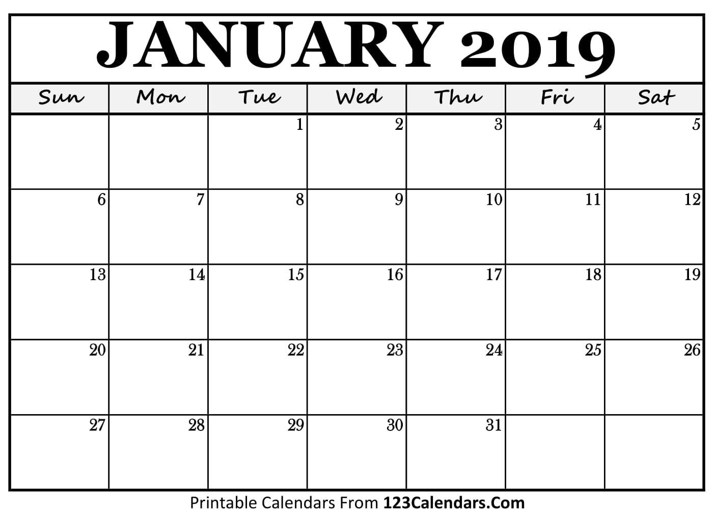 Free Printable Calendar   123Calendars-Free Fillable 2020 Calendar Template