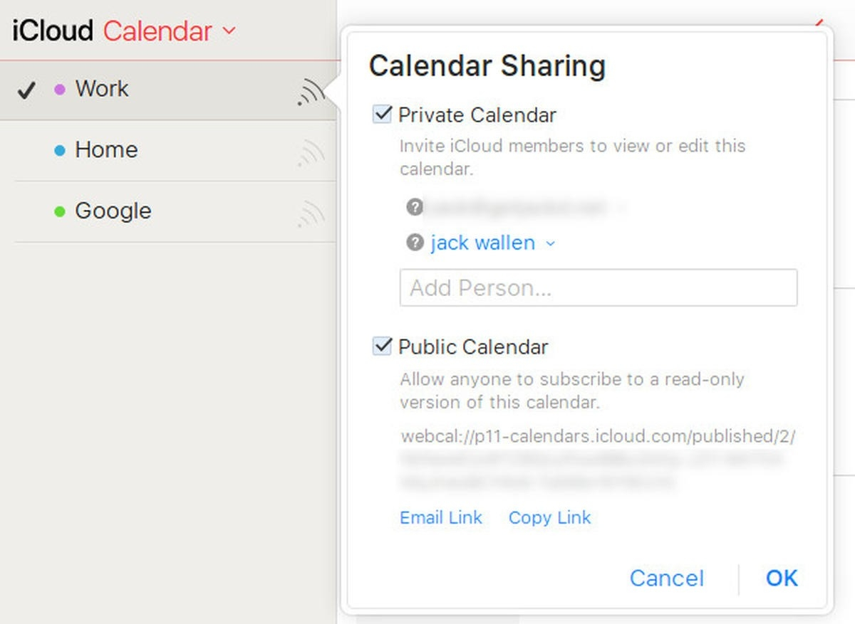How To Find Your Icloud Calendar Url - Techrepublic-Lotus Notes Print Blank Calendars