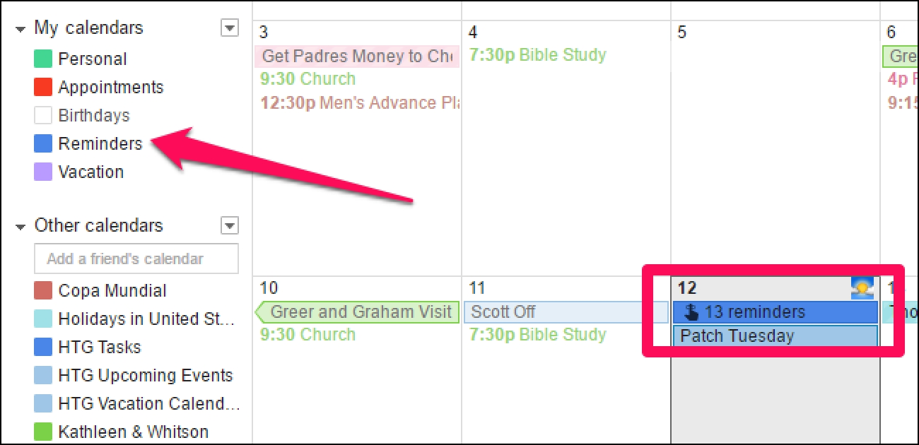 How To Remove The New Reminders In Google Calendar-Remove Holidays From My Google Calendar
