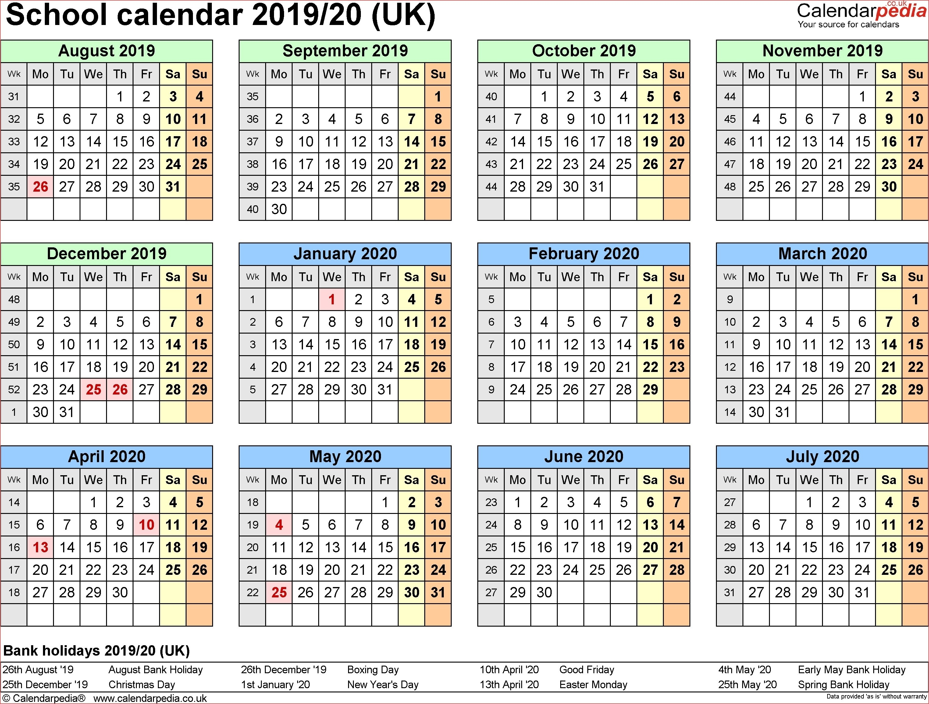 Https://idlewildfurnishing/2020-Blank-Hk-Calender/ 2019-January 2020 Calendar Nz