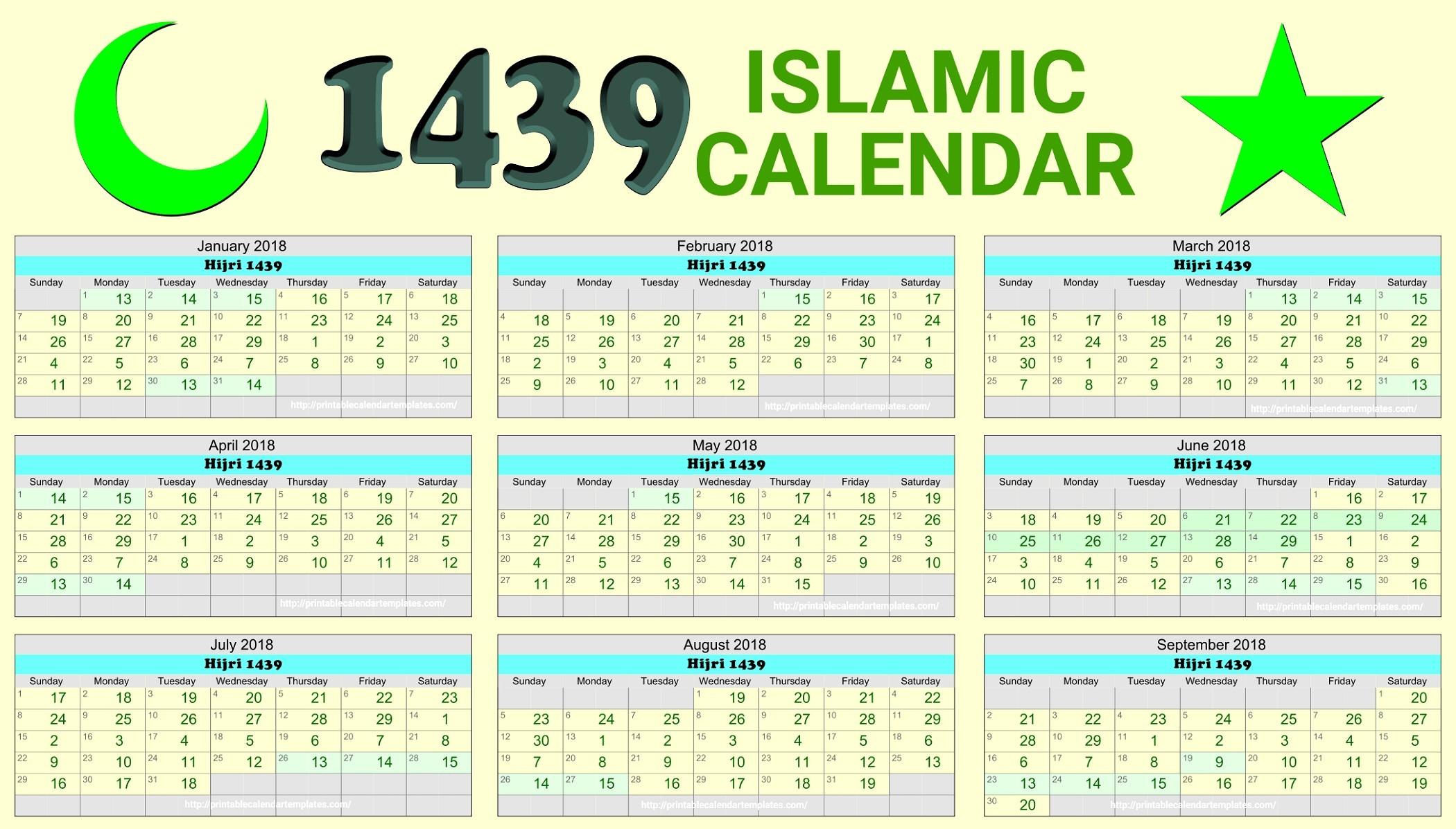 Islamic Calendar 2001 | Jcreview-January 2020 Arabic Calendar