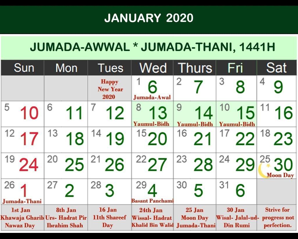 Islamic Calendar 2019 - Hijri Calendar 2020 For Android-January 2020 Urdu Calendar