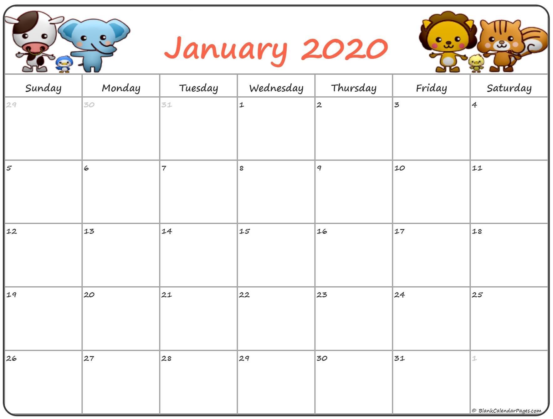 January 2020 Pregnancy Calendar | Fertility Calendar-January 2020 Calendar Cute