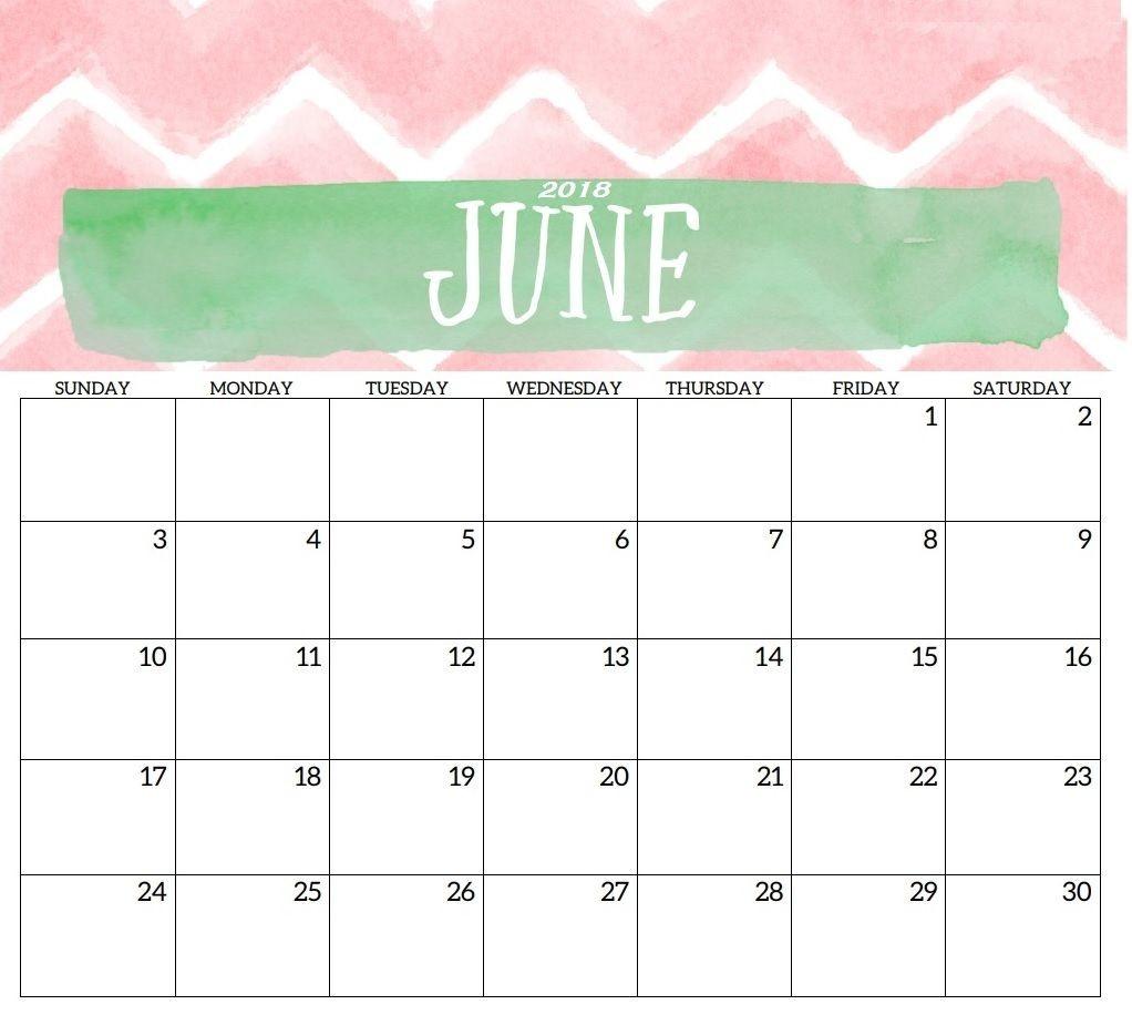 June 2018 Hd Monthly Calendar | Calendar 2018 In 2019 | 2018-Monthly Schdule For June