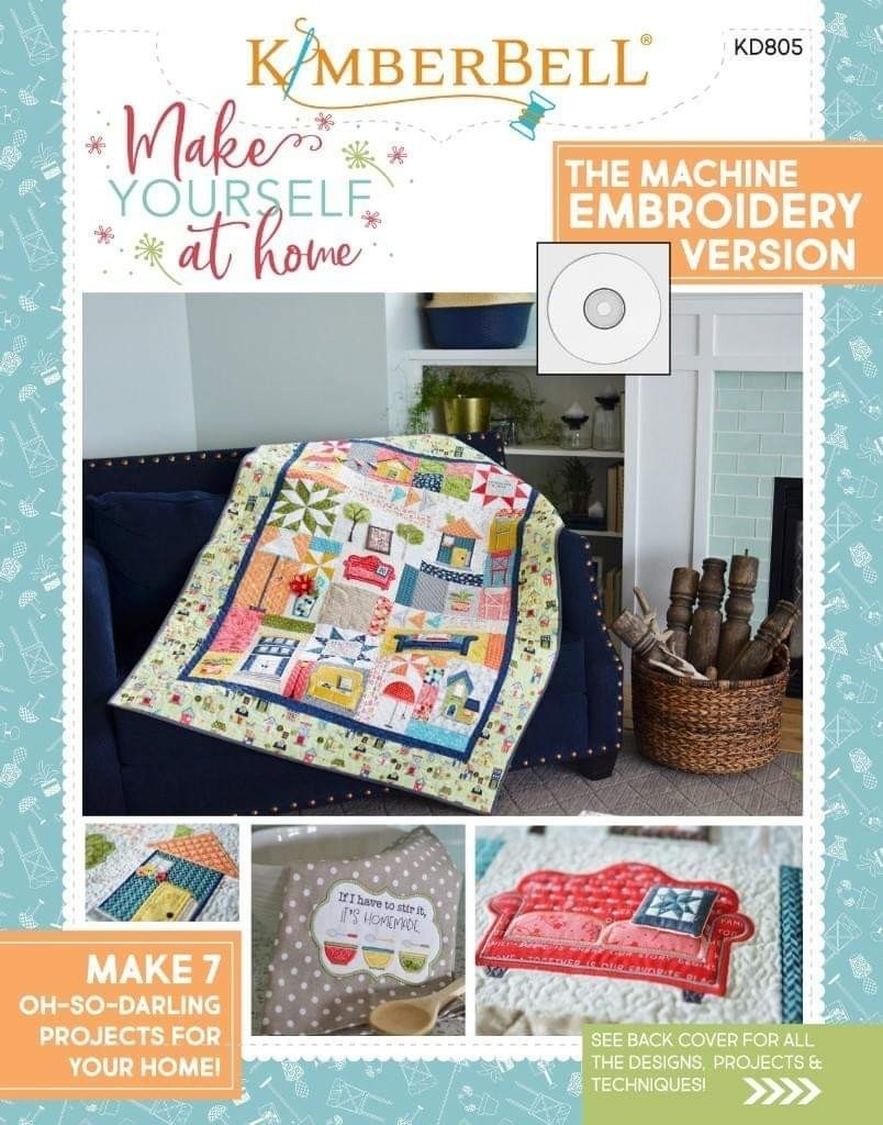 Kimberbell Designs Machine Embroidery & Sewing Patterns-Jewish Holidays In Decembermachine