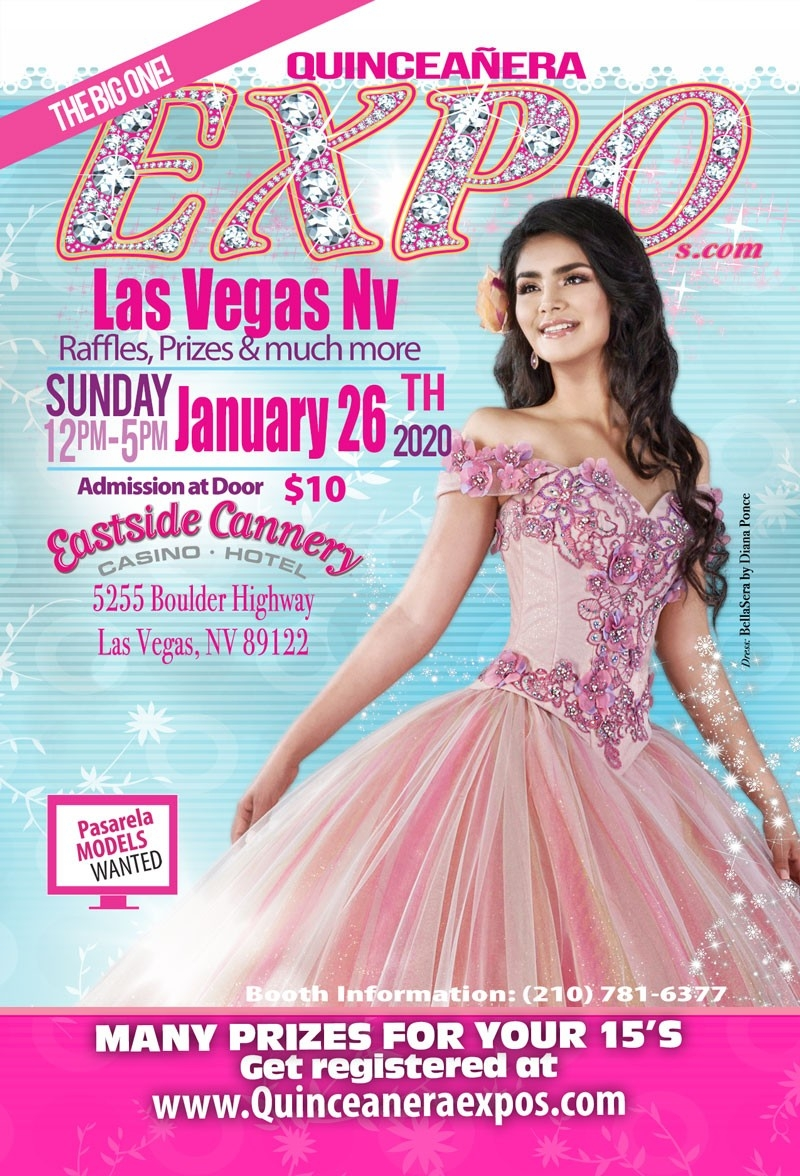 Las Vegas Quinceanera Expo January 26Th, 2020 At The Eastside Cannery Casino-Las Vegas Event Calendar January 2020